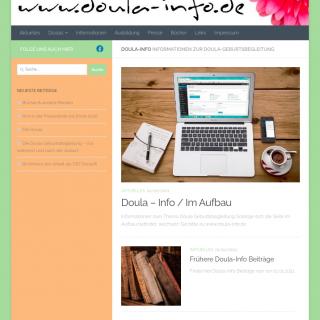 Screenshot Doula-Info